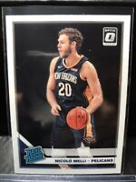 2019-20 Nicolo Melli Optic Rated Rookie RR RC #163 Pelicans