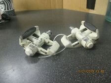 Vintage Look clipless Pedals, White/Black, GC