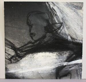 Gregor Torsten Kozik Orig. Zeichnung Kreide Gouache Mischtechnik Moderne Kunst