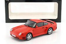 Porsche 959 Red Year 1986 1:18 Autoart