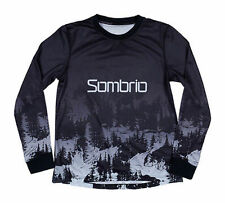 Sombrio Cascadia Women's Long Sleeve Mountain Bike Mtb Cycling Jersey Black XS