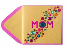 """Papyrus Mother's Day Greeting Card - """"My incredible, amazing, & beautiful MOM"""""""
