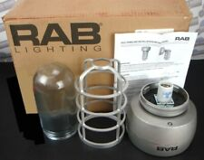 "RAB VP ""HID"" CEILING 100W w/GLASS GLOBE & CAGE VX2HH100QT (NEW in BOX no BULB)"
