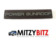Mitsubishi Shogun Pajero Mk2 91-99 LWB Power Sunroof Trim panel