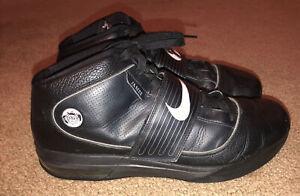 Nike Zoom Soldier IV Lebron James 407630-001 Black Witness High Top Mens US 13.5