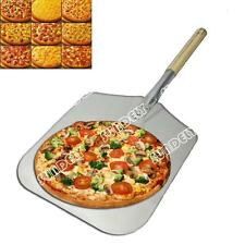 "Pizza Peel 12"" Wooden Handle/12 x 14"" Blade//Bakers Pizza Paddle/Pizza Oven"