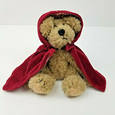Boyds Bears Plush Teddy Jointed Retired Colleen O'Bruin 91805 Red Cape