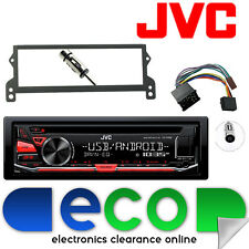 BMW Mini R50 R52 R53 JVC CD MP3 Tuner USB Aux Car Stereo & Round Pin Fascia Kit