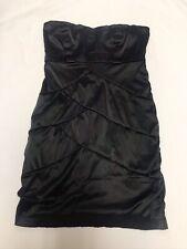 WOMENS NIKIBIKI  Size L Black Strapless Bodycon Bandage Dress