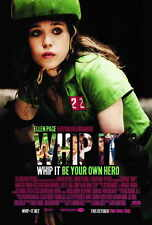 WHIP IT Movie POSTER PRINT 27x40 Sarah Habel Shannon Eagen Mary Callaghan Lynch