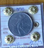 REPUBBLICA ITALIANA 50 LIRE 1958 sigillata BB+ NUMISMATICA SUBALPINA