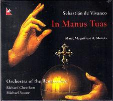 Sebastian de VIVANCO 1551-1622 In Manus Tuas sacred polyphony GLOSSA CD Noone