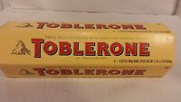 Toblerone - Case of Six 3.5 Ounce Bars - Swiss Chocolate with Honey - FREE SHIP