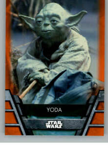 2020 Topps Star Wars Holocron Series ORANGE PARALLEL Trading Card Pick From List