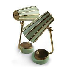 Tischlampe MidCentury Pastell Vintage Messing Lampen Orignal 60er-Jahre Design