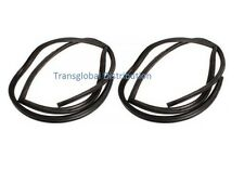 Land Rover Defender Pair of Rear 2nd Row Rubber Door Seals - Bearmach
