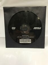 MSI Motherboards Lan/Wi-Fi/Bluetooth/Thunderbolt Drivers & Utilities