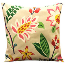 Sanderson Myrtle Abstract Floral Cushion Cover