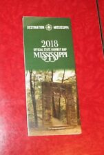 MISSISSIPPI OFFICIAL STATE HIGHWAY MAP 2018  EDITION