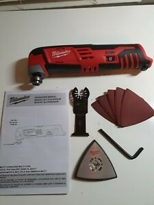 2426-20 Milwaukee M12 12-Volt Cordless Oscillating Multi-Tool w/ Attachments