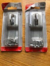 New listing National Hardware Swivel Staple Safety Galvanized Hasp 4 1/2� Two Packs