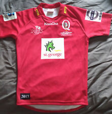Match Worn Jersey Ben Daley Queensland Reds Rugby