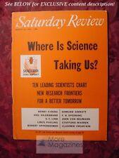 SATURDAY REVIEW March 24 1956 LAURENCE SNYDER HARRISON BROWN FRANK SWINNERTON