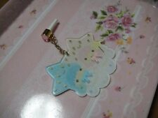 Sanrio Little Twin  Stars strap with Anti Dust Plug Earphone Jack Cell Phone