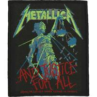 Metallica Men's And Justice For All Woven Patch Multi