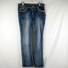 Maurice Bootcut Jeans Women Size 7/8 Regular Blue