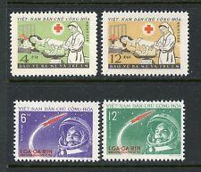 NORTH VIET NAM 1961 CHILDREN'S DAY & GAGARIN ISSUES MINT, NH #158-61
