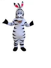 TOP SELLING Zebra mascot cartoon costumes adult dress up Halloween dance props