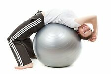 Fitness Ball for Home, Gym, Office with Quick Pump (Gym Ball 75cm with Pump)