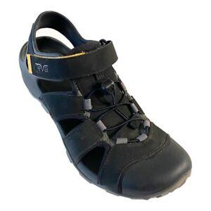Teva Mens Flintwood Sport Sandals EVA Water Hiking Shoes Black 11