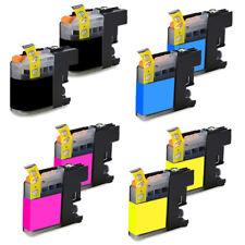 8 Tintas Compatibles Para Brother Lc125Xl Lc127Xl Chip