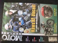 ** Moto Légende n°132 Poster 350 Jawa Californian / Honda CR 750 Daytona Replica