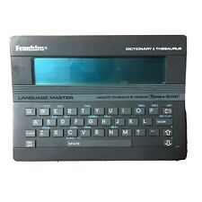 Franklin Language Master Electronic Dictionary Thesaurus Lm2000B Qwerty Keyboard