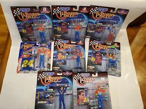 Lot of 8 Jeff Gordon Still In the Package Winner's Circle Starting LineUps SLU