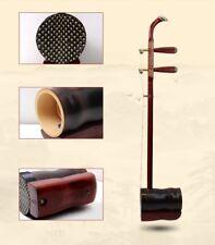 Handmad Flower Drum Song Daidong ERHU Chinese 2-string Violin Red Wood 花鼓戲大筒#076