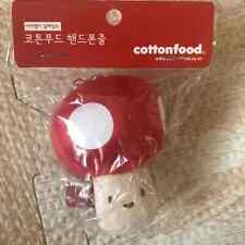 Choba Red Mushroom Mobile Earcap (7cm)