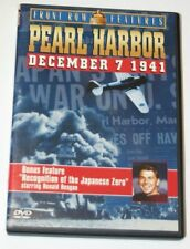 PEARL HARBOR : DECEMBER 7TH 1941 DVD.  Front Row Features.  Ronald Reagan.