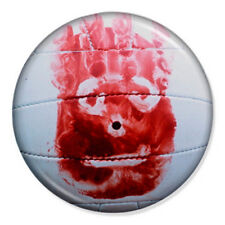 "Wilson 25mm 1"" Pin Badge Button Tom Hanks Cast Away Volleyball Movie 1"
