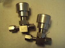 """1/4"""" Nupro SS-4BK-V51-1O Valve VCR connection unused pneumatic valve"""