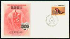 Mayfairstamps Canada Fdc 1976 Iroquois Items First Day Cover wwh_72169