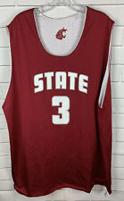 Washington State Cougars Reversible Jersey #3 Team Issue Practice Russell XL