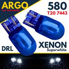2 X Drl Bulbs Vauxhall Corsa D 7443 W21/5w 580 T20 Super White Xenon Effect Vxr