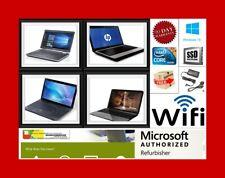 Barato Rápido DUAL CORE Laptop WINDOWS 7 o 10 OS, 2GB 3GB 4GB Ram Con Garantía
