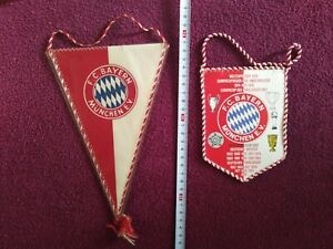 FC Bayern Munchen-  2x Old pennant