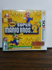 Nintendo 3ds games super mario bros 2 with manual and case