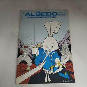 Albedo Anthropomorphics #4 Steven Gallacci 1985 Usagi Yojimbo Stan Sakai l2d84
